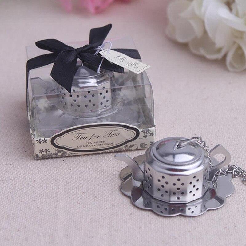 Wedding Souvenirs For Guests: 20pcs/lot Tea Ball Tea Strainer Wedding Souvenirs Wedding