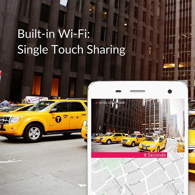 """YI Smart Dash caméra enregistreur vidéo WiFi Full HD voiture DVR caméra Vision nocturne 1080P 2.7 """"165 degrés 60fps caméra pour l'enregistrement de voiture 1"""