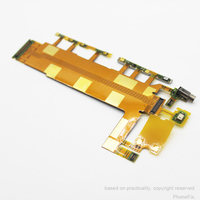 New High Quality Power On Off Volume Button Switch Flex Cable For Sony Xperia Z3 D6603