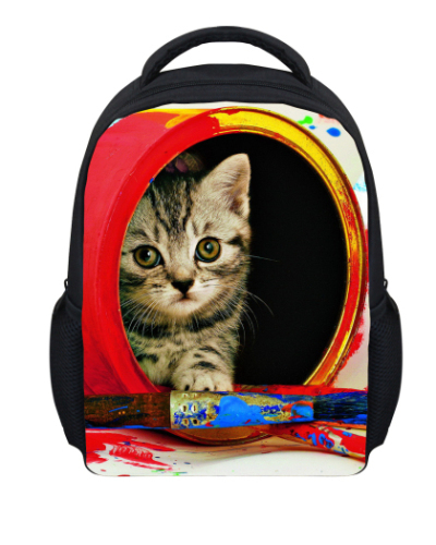 Online Buy Wholesale kitty cat backpack from China kitty cat ...