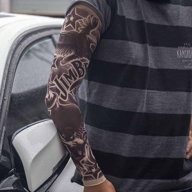 Fashion Temporary Fake Tattoo Sleeves Arm Art Design Kit Party Delectable Pattern Tattoo Sleeve