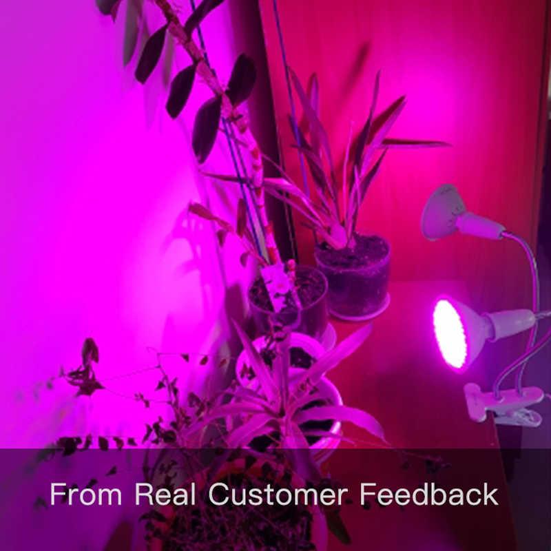 LED Coltiva La luce a Spettro Completo Phyto Lampada Idroponica Fitolamp Con La Clip Per La Verdura Fiore Teste di Serra Impianto di Illuminazione