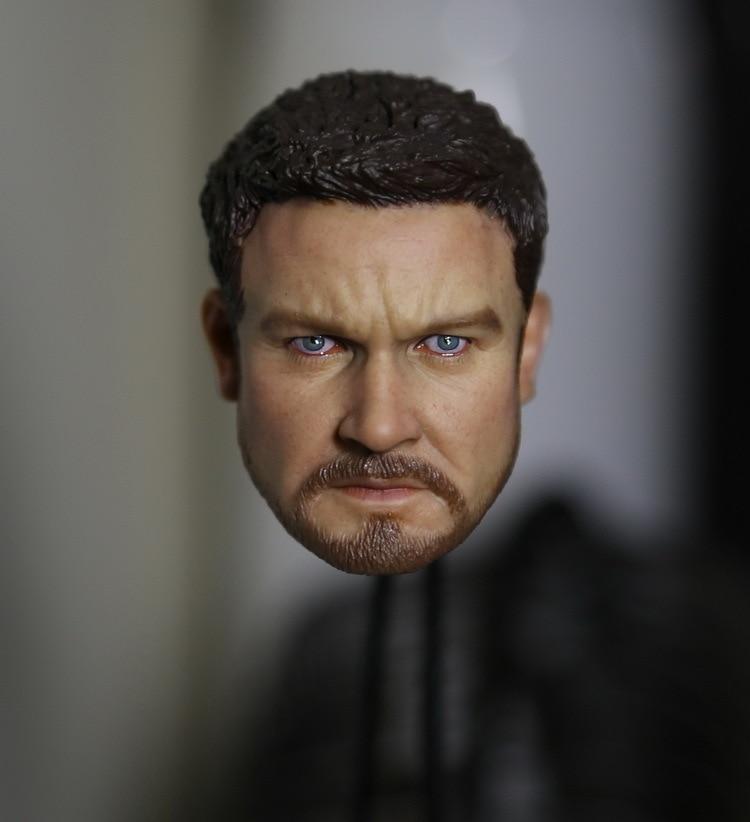 купить 1/6 figure doll head.The Bourne Legacy Jeremy Renner head shape.doll accessories for DIY12