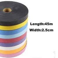 Powerti Tennis Racket Overgrip 0.75mm Stick Sweatband Adhesive Tape Viscous Squash Racket Grips 45m