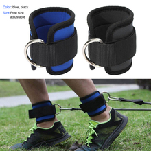 1pc Ankle Straps Wrist Support Gym Sports Band Leg Strength Training Weight-bear