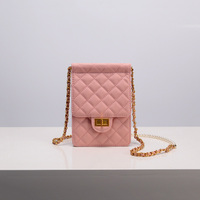 2019 New Women Mobile Phone Bags Fashion Small Change Purse Female Chain Buckle Shoulder Bags Mini Messenger Bag Bolsas Feminina