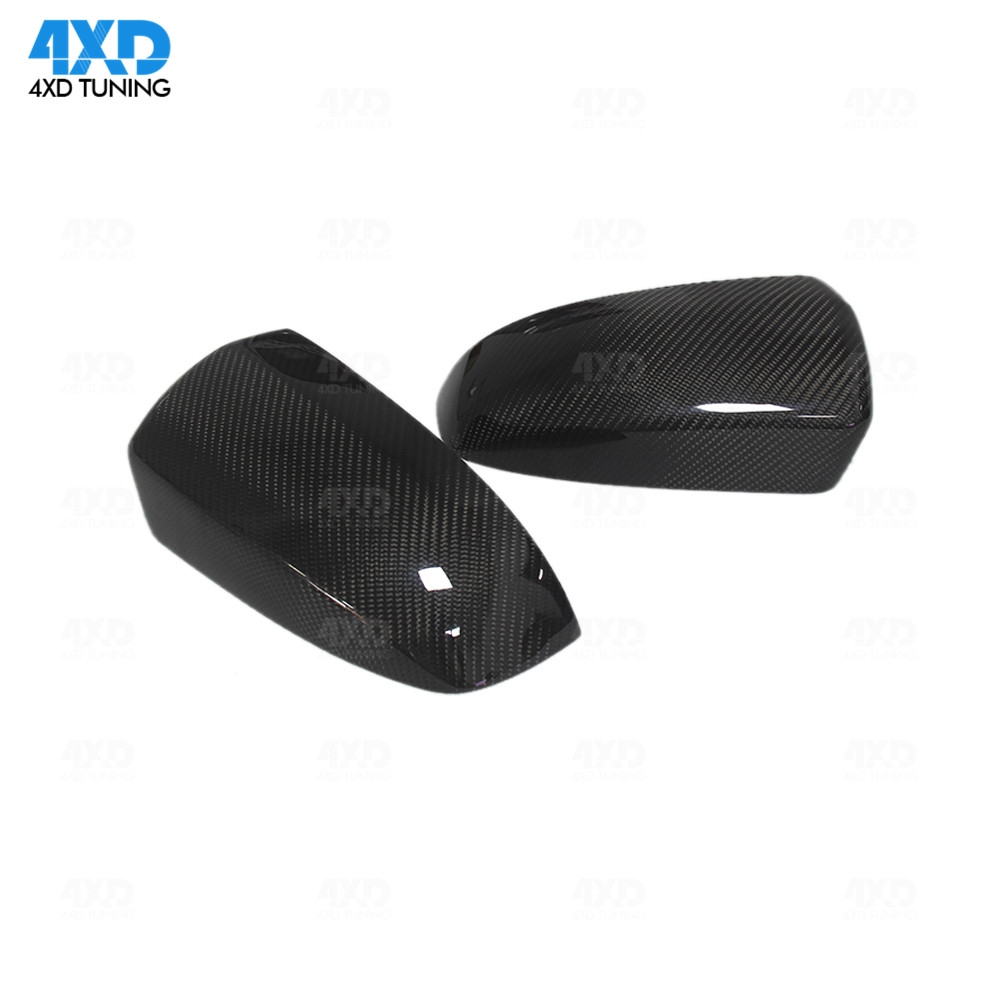 E71 Carbon Mirror Cover Replacement style For BMW X5 E70 X6 Rear View Add on mirror