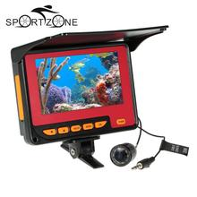 4.3″ LCD 20M Fish Finder Fishing Camera 1000TVL Underwater Video Camera System DVR Function in Russian Fishing Accessories NEW