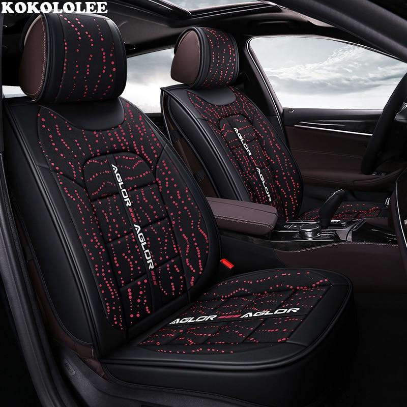 KOKOLOLEE voiture housse de siège pour suzuki swift jimny sx4 baleno grand vitara ignis Automobiles housses de siège de voiture-style