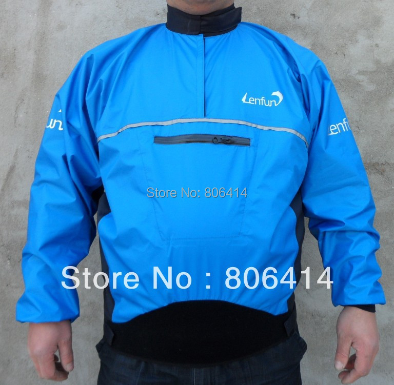 UNISEX  Waterproof   Paddle Spray Semi-dry  Jacket Tops For Kayak Caneo,sailing Fishing Surfing Paddling Windsurfing,kitesurfing