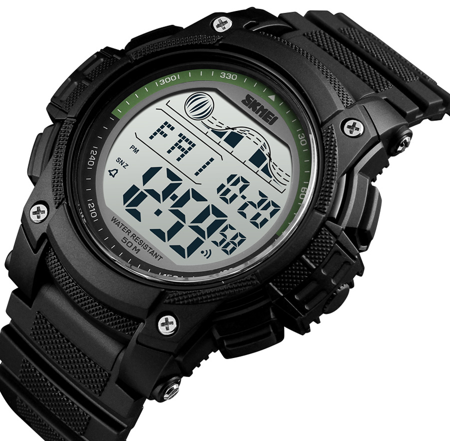 <font><b>SKMEI</b></font> 2019 New Sport Watches For Men 5Bar Waterproof LED Display Watches Alarm Clock Chrono Digital Watch reloj hombre <font><b>1372</b></font> image