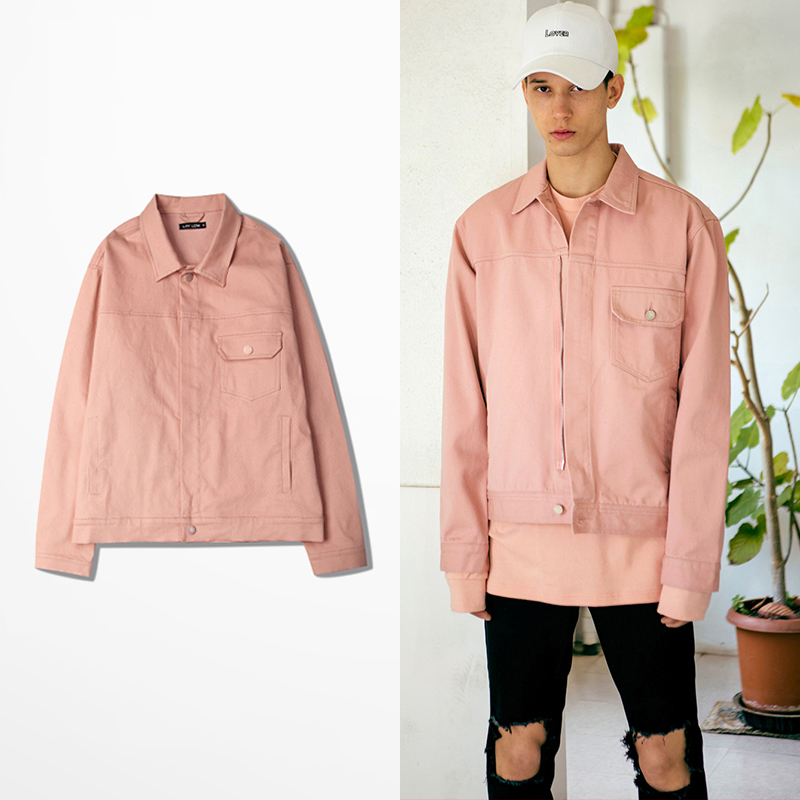 Popular Hot Pink Denim Jacket-Buy Cheap Hot Pink Denim Jacket lots from China Hot Pink Denim ...