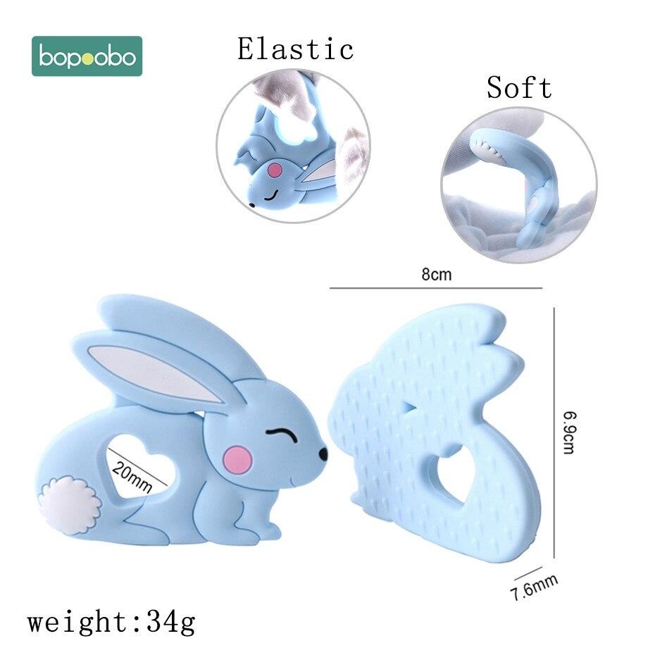 Let-s-Faire-B-b-de-Dentition-10-pc-Jade-Lapin-Pendentif-SANS-BPA-Dentition-Silicone