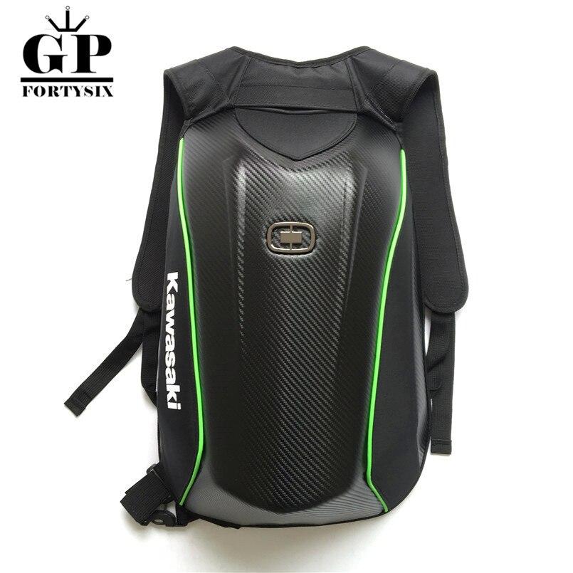 New motorcycle Moto gp backpack carbon fiber riding bag motorcycle knight motorcycle backpack for Yamaha Kawasaki backpack