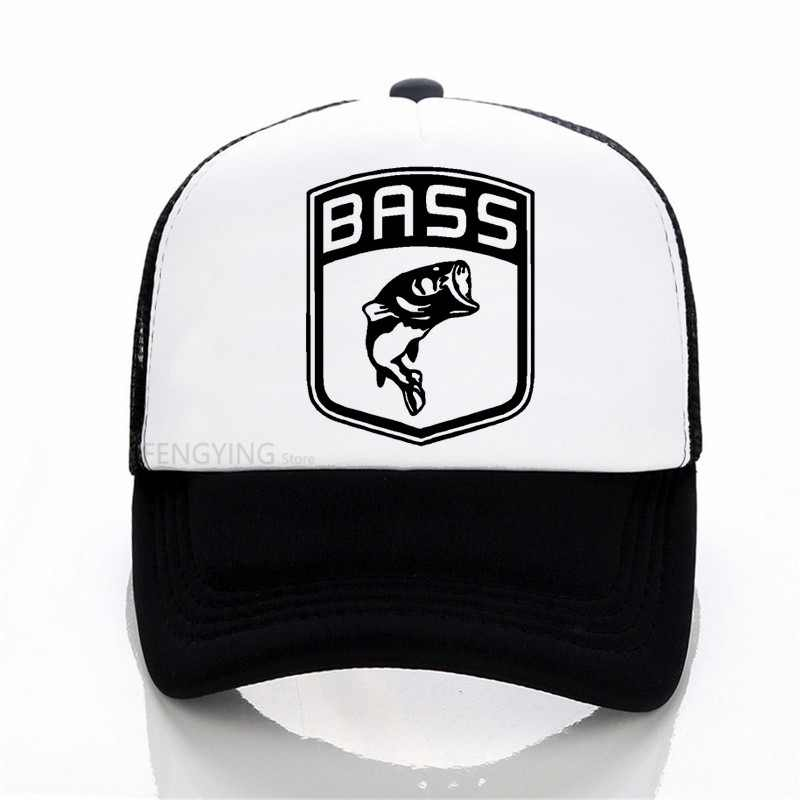 Bass Fish Fishing baseball caps Bait Carp Angling Men Pre Cotton cap summer Snapbacks Hat Adjustable sports cap