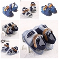 Fashion Cool Summer Baby Boys Shoes Soft Bottom Kids Toddler Prewalker Newborn Infant Anti Slip Summer Shoes Crib Summer Wear