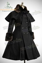 Top Sale  Long Warm Winter Cute Lolita Coat Winter Long Coats All Size