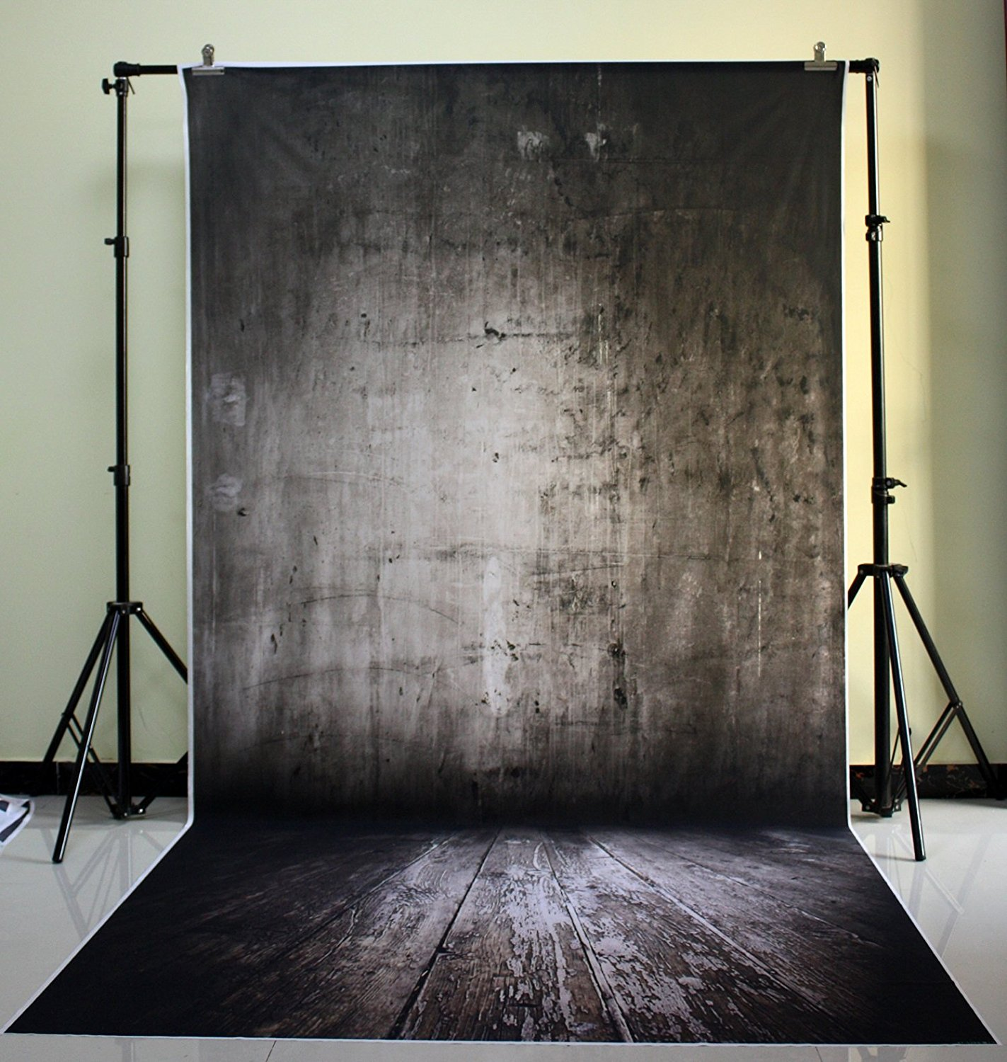 150x300cm Cotton Polyester Dark Deep Color Background Christmas Party Backdrop Children Photo  Black shaded concrete wall XT-539 navarti concrete dark 60x60