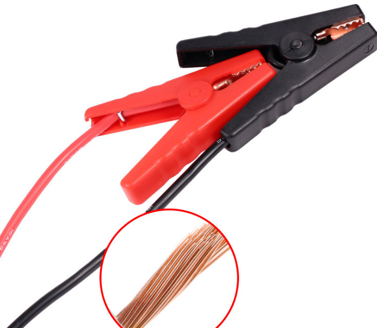 Connector Emergency Jumper Cable Clamp Booster Battery Clips for Universal 12V Car Jump Starter Emergency Lead Cable Connector