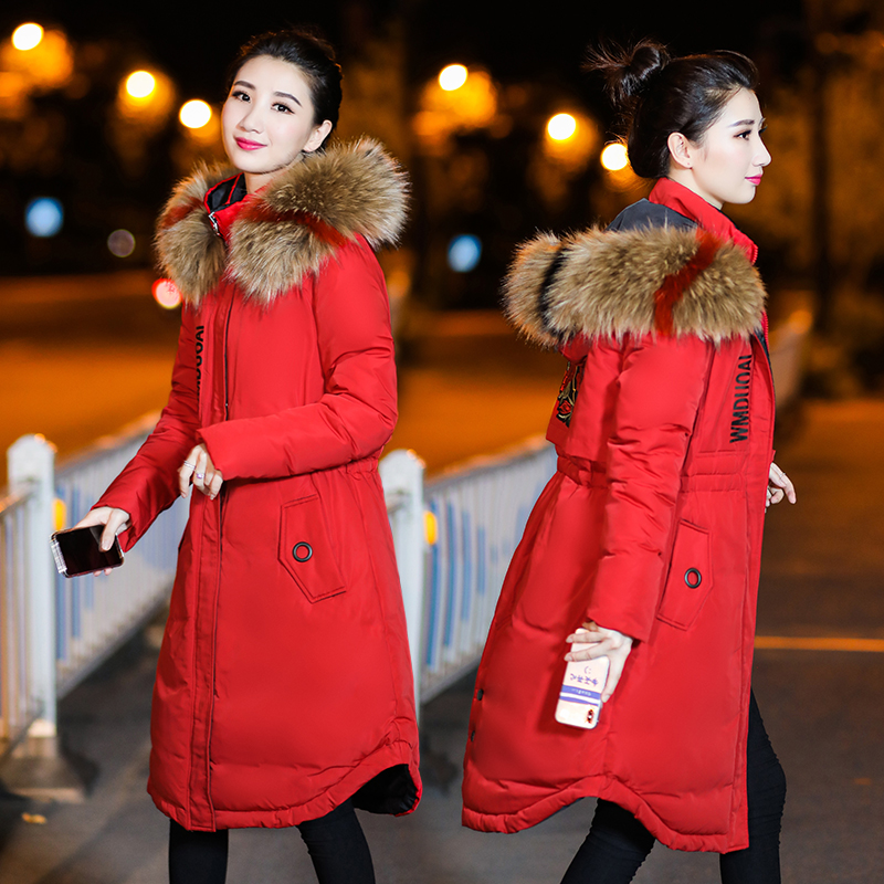 822396146e42e Winter Jacket Maternity Down Cotton Padded Warm Outwear Parkas Women  Maternity Colorful Fur Hooded Thick Coat. sku: 32950460963