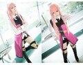 ¡ Nuevo! Anime Vocaloid DIVA-f segundo LUKA Hatsune Miku Cosplay Vestido de Traje XS-XL Envío Gratis
