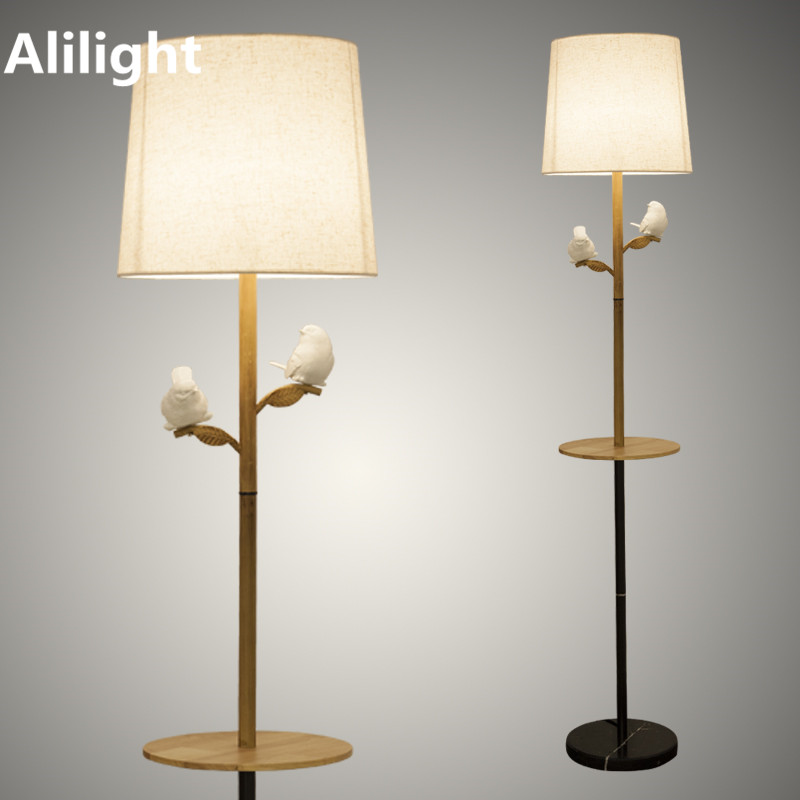 contemporary lamps for the living room modern wood cloth floor lamp for living room study bedroom 26565