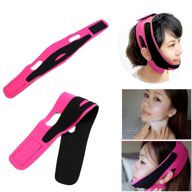 Face Slim V-Line Lift Up Belt Anti Wrinkle Mask Strap Band V Face Line Belt Women Slimming Facial Beauty Tool Dropshipping 2