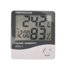 Buy Free shipping, indoor and outdoor electronic thermometer, digital temperature and humidity meter special greenhouse Zoo