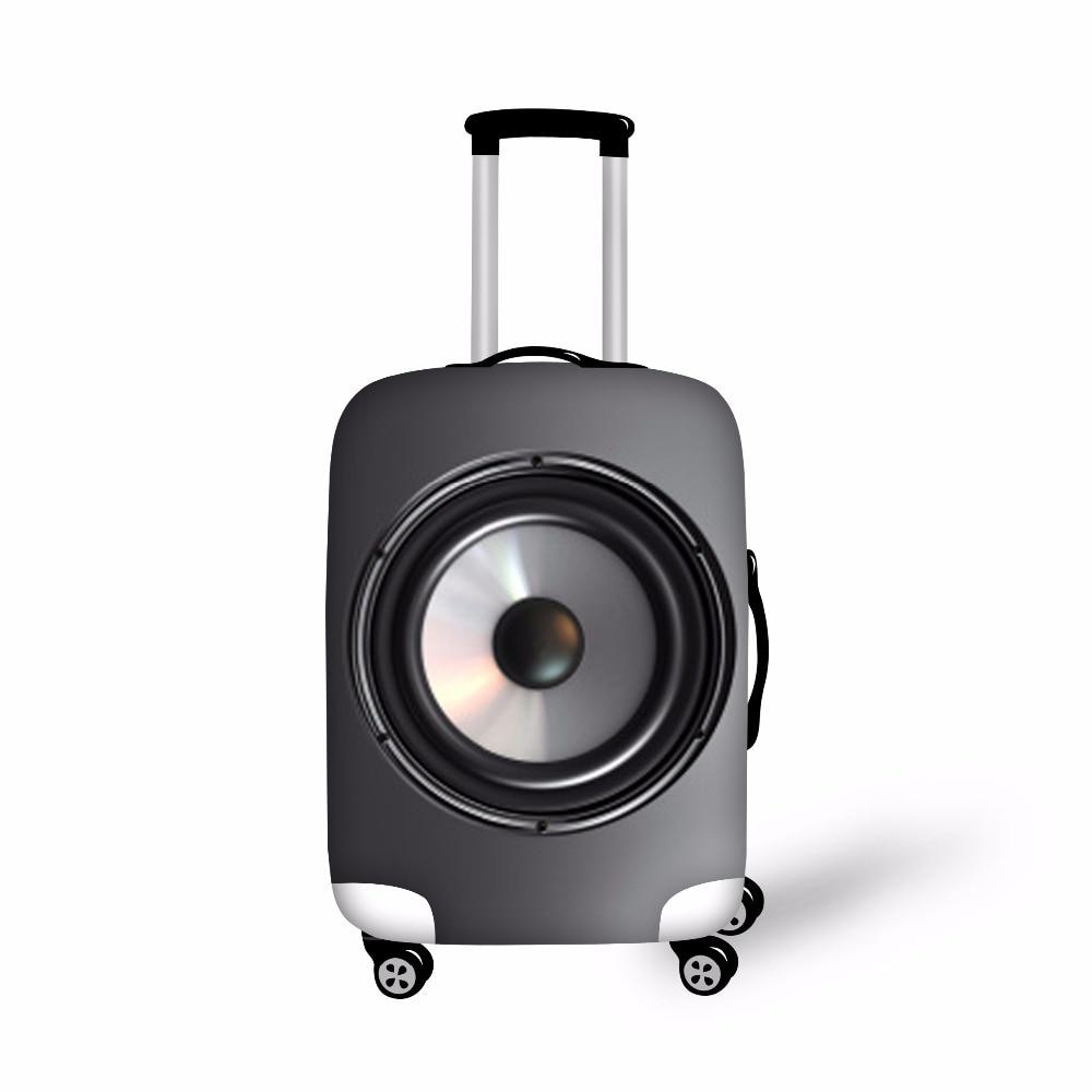 FORUDESIGNS Elastic Bagage Beskyttelses Cover til 18-28 Inch Kuffert Tykt Støv Regn Cover Cover Travel Bag Case Cover Maleta Viaje