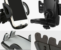 Rotary Suction CD Slot Car Air Vent Clip Mobile Phone Car Holders Stands For Asus Zenfone