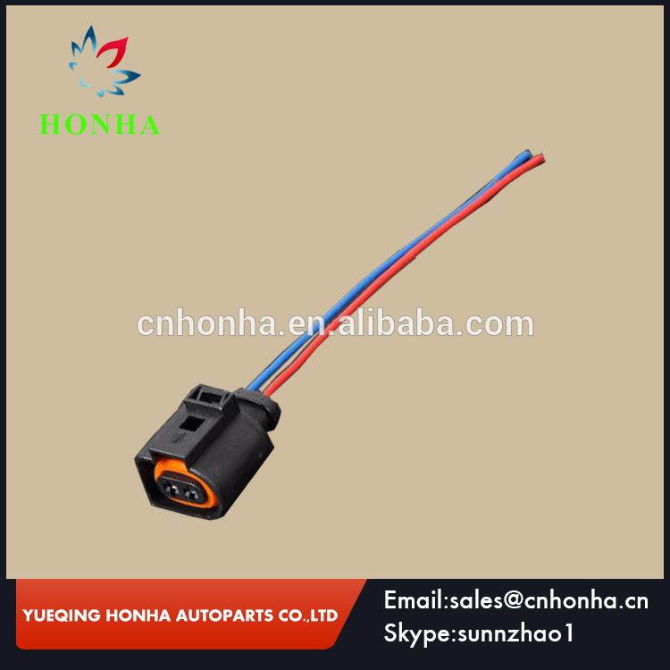 New 1j0973702 Electrical Harness 2 Pin Nnector Plug Wiring For Vw