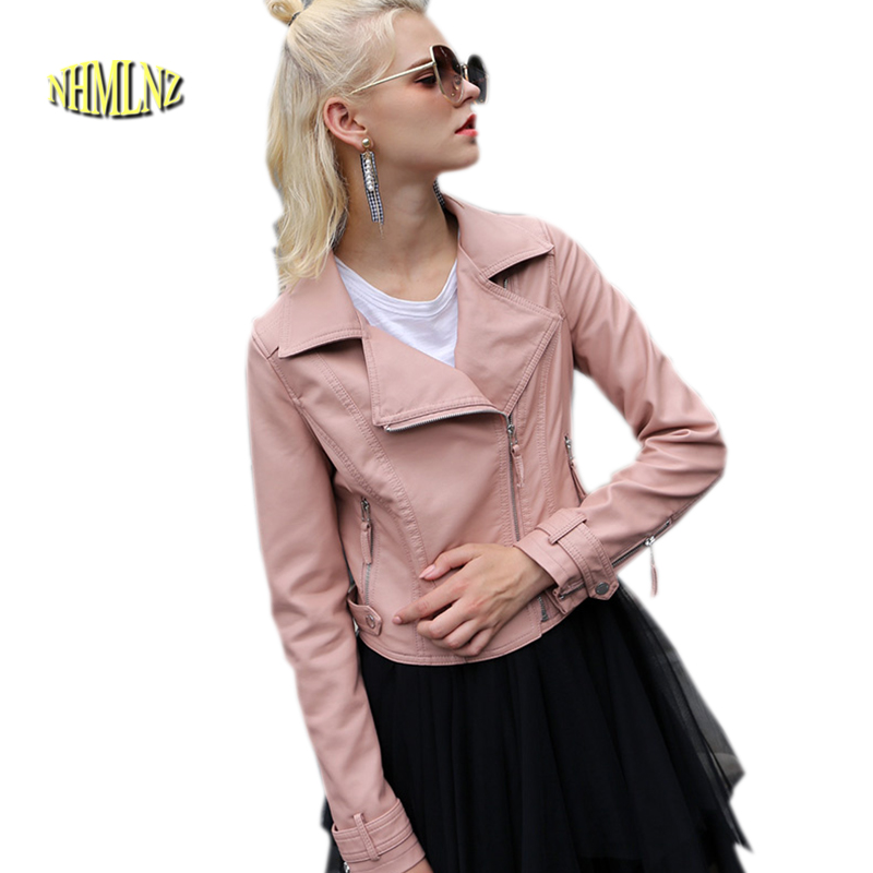 2020 Winter Genuine Leather Jacket New Women Jacket Plus Cotton Warm Jacket Casual Slim Coat Office Leisure Female Jacket OK653