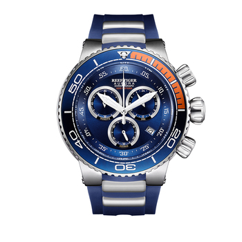 Reef Tiger/RT Luxury Blue Sport Watches Mens Water Resistant Stainless Steel Fashion Military Watches Relogio Masculino RGA3168 1
