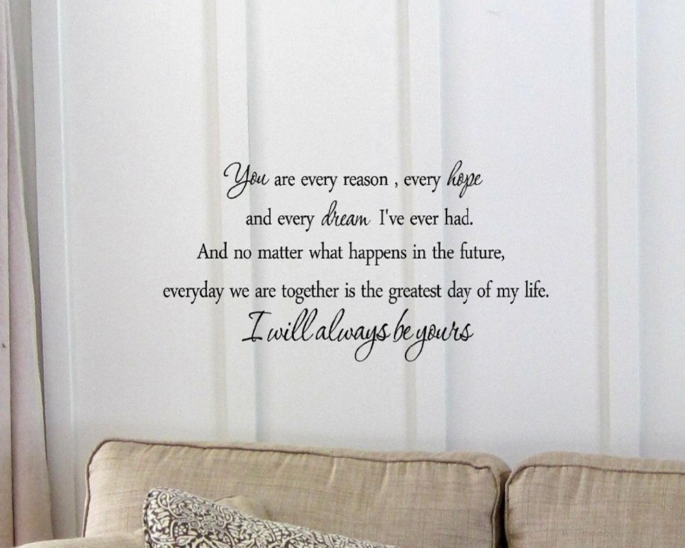I Will Always Be Yours Inspirational Lovely Quotes Home