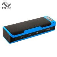 TTLIFE J6 Outdoor Stereo Bluetooth Speaker Portable Wireless Speaker Built In 4000mAh Battery Speakers Power Bank
