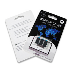10,000 Black RG VIP LINK Webcam Cover Camera Protector Cover