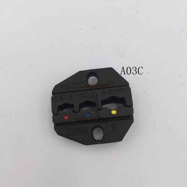 A03C Jeux De Matrices pour HS HS-03C FSE-03C AM-10 EM-6B1 EM-6B2 SERTISSAGE PILER machine À Sertir un ensemble outil