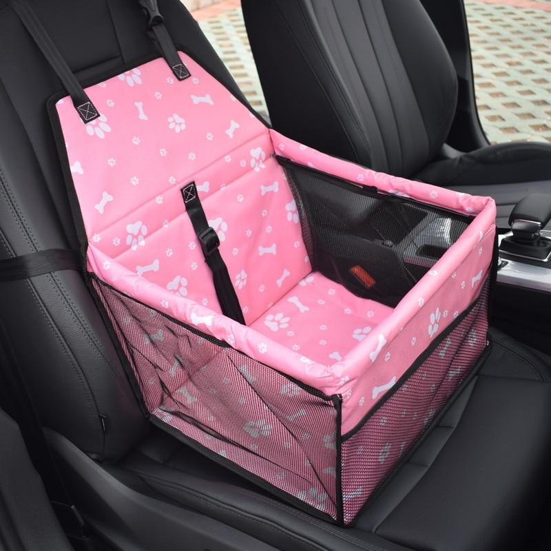 Husdjur Carrie Väska För Rese Kylning Foldbar Bil Säte Säkerhetsbärare Lämplig liten / Middle Dog Puppy Car Seat Protector