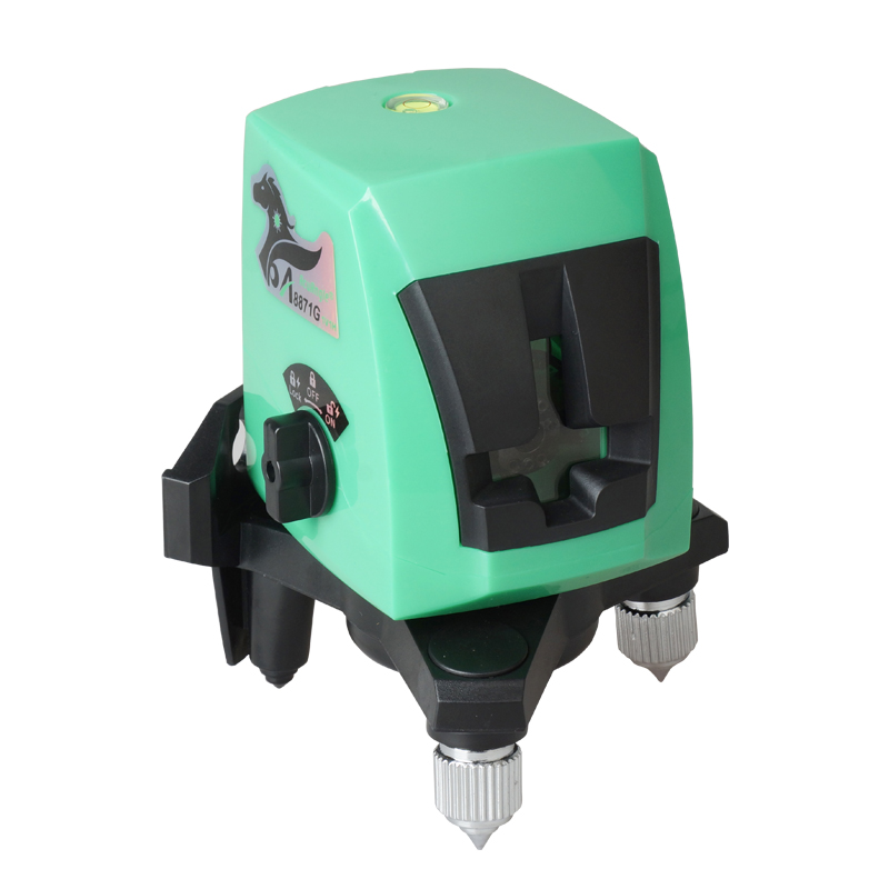 Acuangle A8871G Green Nivel Laser Level Cross 2 Line 1 Dot 1V1H Mini Portable 360 Self