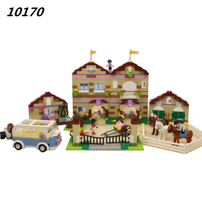 AIBOULLY 10170 Friends Series Girls Housework Time Panorama mini set Building Blocks girl toys Compatible 3185 2017 new abu garcia 100