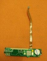 Б/у оригинальная микрофонная плата для материнской платы FPC для Cubot S350 MTK6582 четырехъядерный 5 5