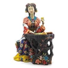 Porcelain Angel Figurines Figurative Ceramic Sculpture Glazed Marvel Statue Sculpture Figure Art for Home Decor недорго, оригинальная цена