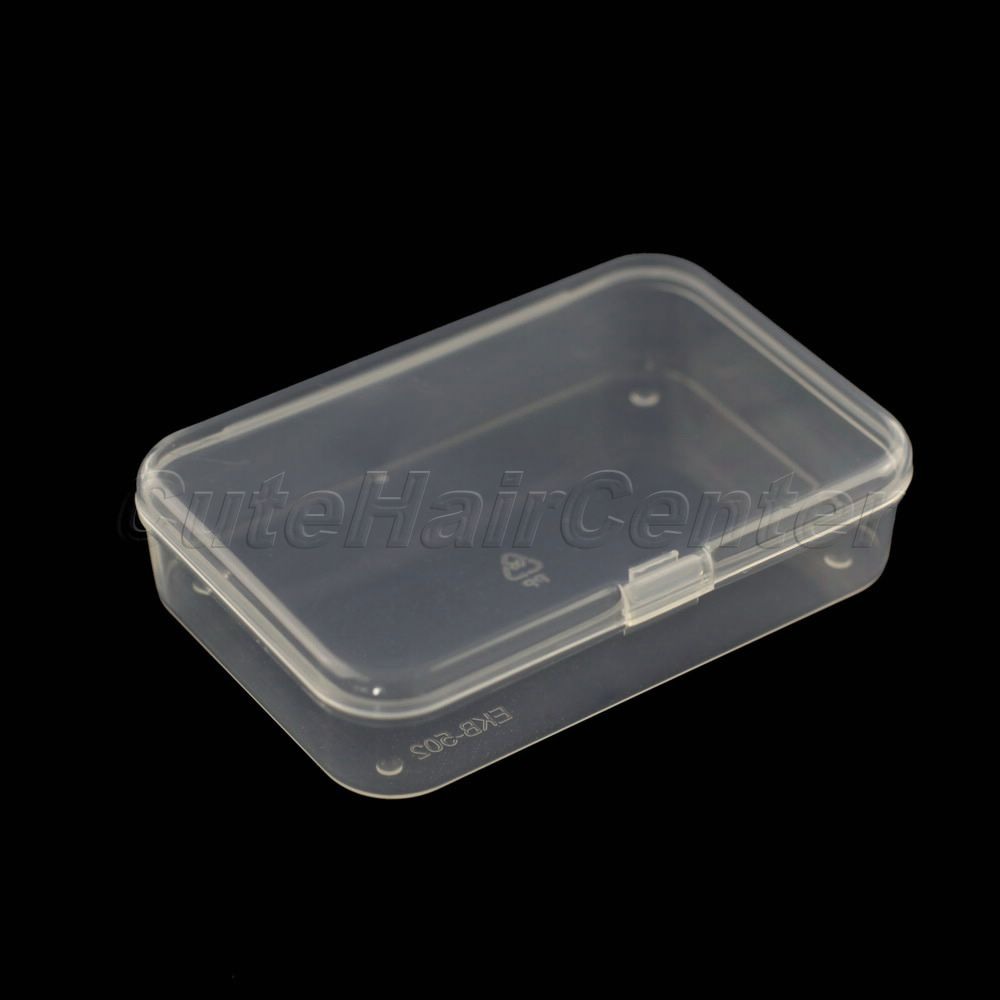 Favorable Price 1pc Box Plastic Clear Transparent
