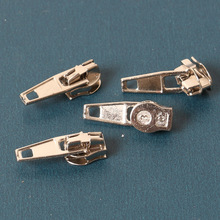 NEW Wholesale 25pcs 3# Zinc Alloy Auto Lock Automatic Zipper Puller Sliders for Nylon Zippers High Quality  Home Textiles