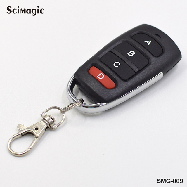 433.92 Mhz Remote control Duplicator Copy 433mhz Remote Control fixed code For Universal Garage Door Gate Key Fob command garage