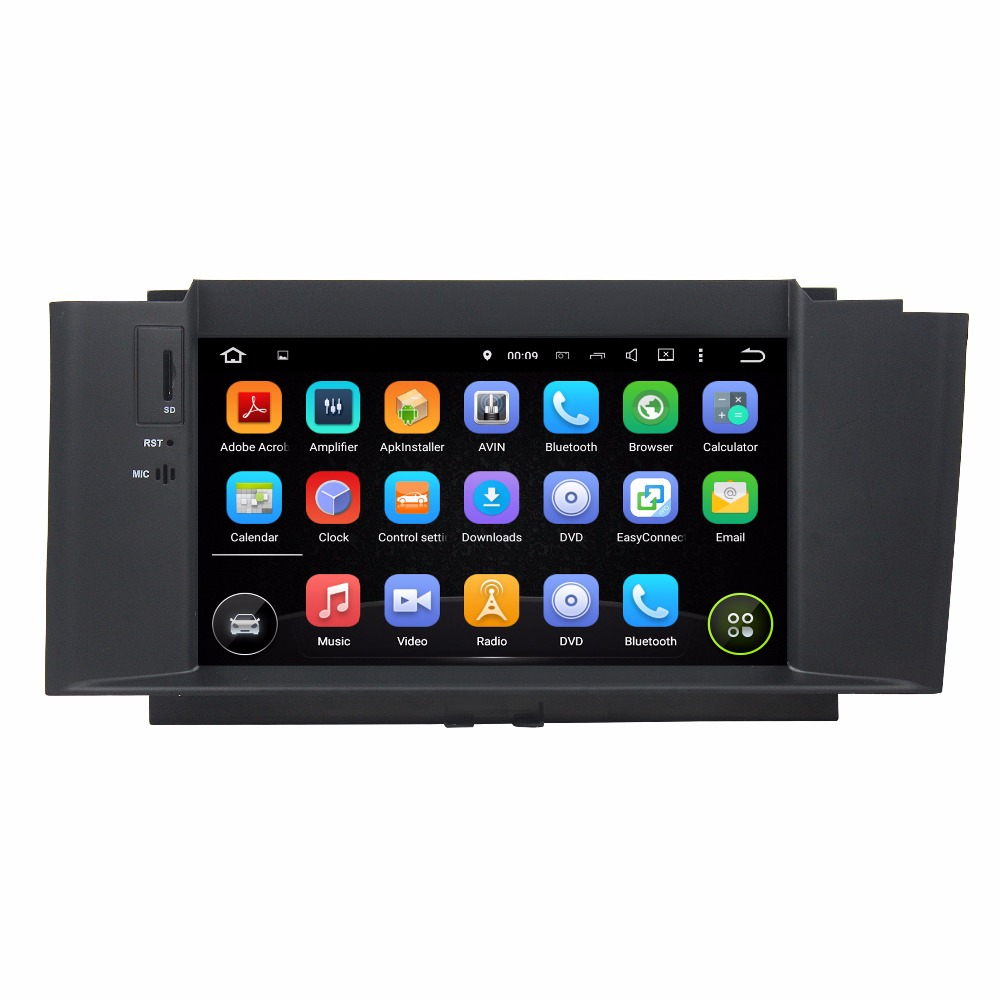 2DIN Octa/Quad Core <font><b>Android</b></font> Fit <font><b>CITROEN</b></font> <font><b>C4</b></font> <font><b>2012</b></font> 2013 2014 Car DVD Player Multimedia GPS Navigation Radio AUDIO DVD STEREO NAVI image