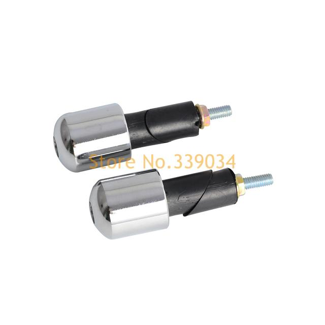 white motorcycle parts ends grip plugs for suzuki an400 burgman