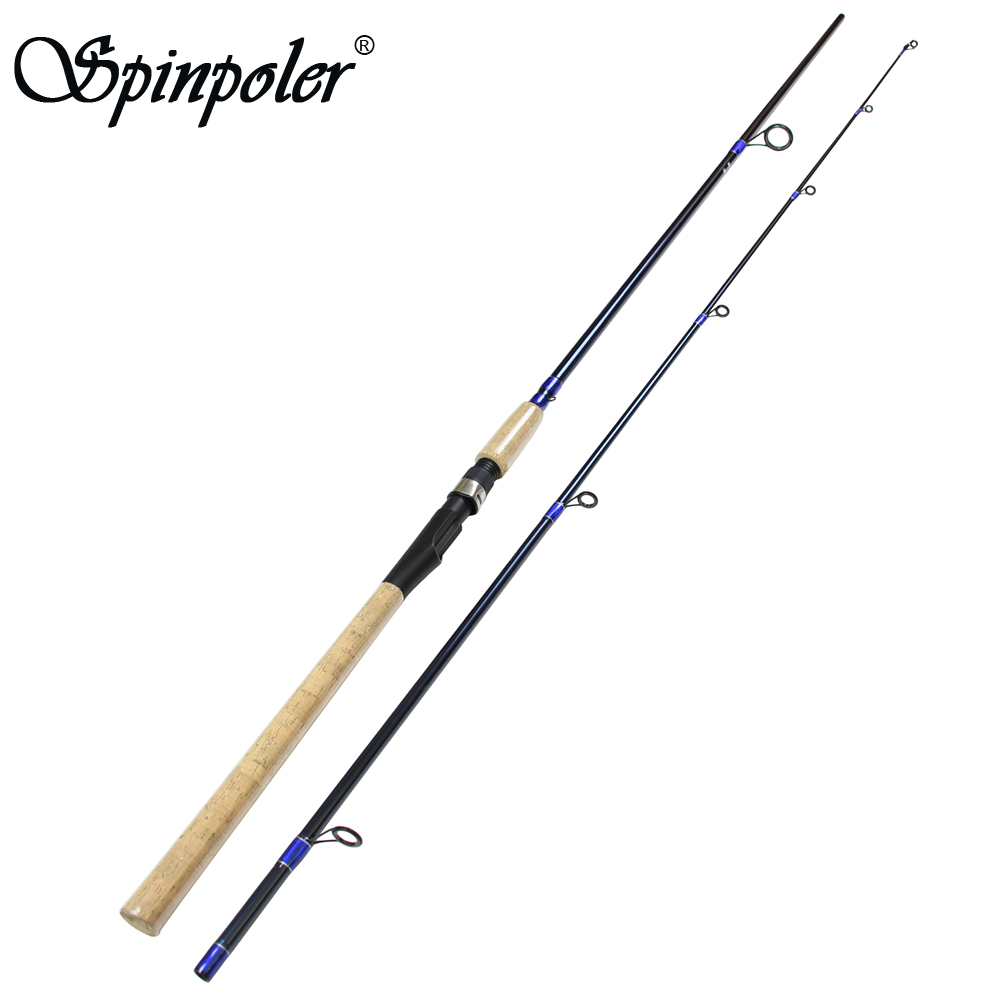 Spinpoler fishing rod sea bass mh spinning for Carbon fiber fishing rod