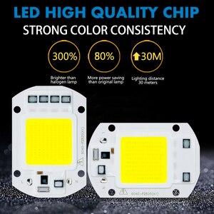 LED COB Chip Diode AC 220V 3-9W 10W 20W 30W 50W Für rechteckige Licht Matrix Lampe Ampulle Scheinwerfer Y27 Y32 Nicht Benötigen Fahrer Led