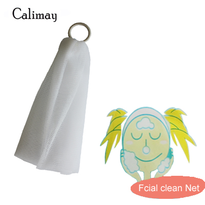 2pcs Facial Clean Sponge Bath Mesh Cloth Clean Towel Shower Towel Bathing Scrub Washcloth Body Towel Foaming Net Soap Make